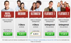 Lovefilm Online Videothek